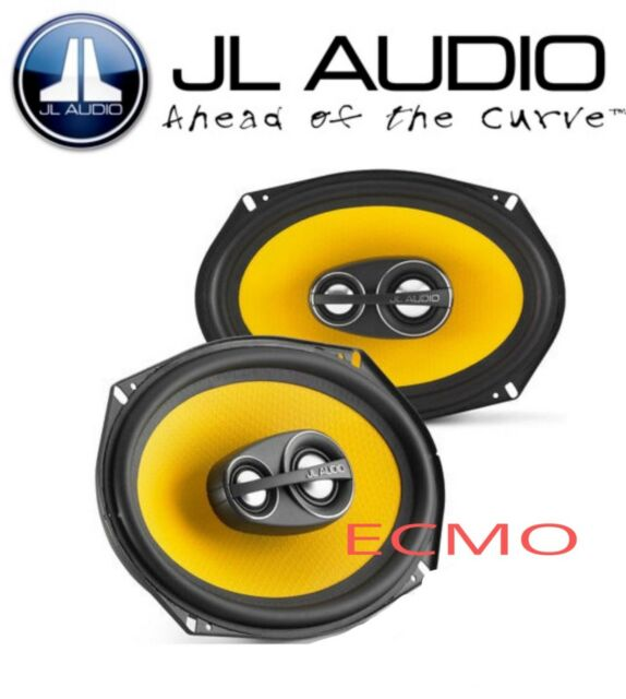 "JL Audio C1-690tx  C1 Series 6"" x 9"" 3-Way Coaxial Car Audio Speakers 6x9""  New"