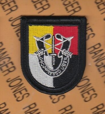 3rd Special Forces Group Airborne SFGA DUI crest beret flash patch 3-B