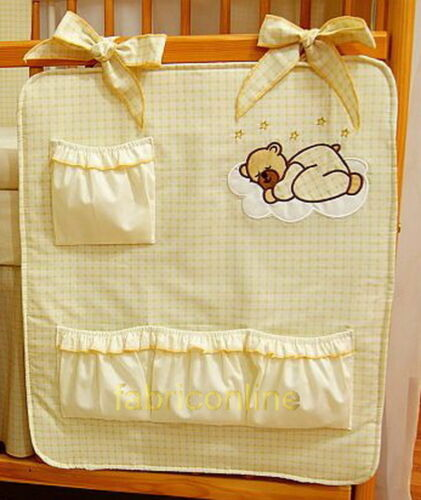 Nursery BABY COT TIDY//TOYS BAG//ORGANIZER  SALE!!!