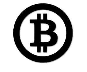 Bitcoin Aufkleber 7cm Design ähnlich Autoaufkleber Schaufenster decal 24 #8000