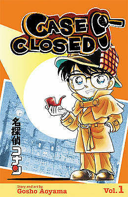 Case Closed Volume 1: v. 1 (Manga),ACCEPTABLE Book