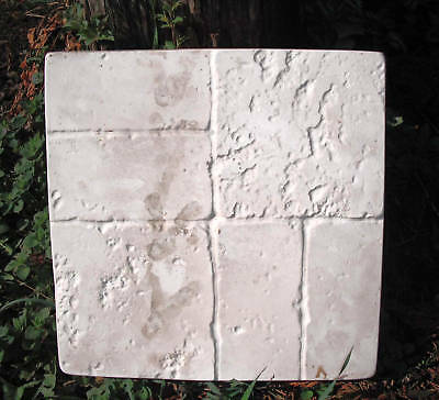 """Palm tree bench top mold 3//16th plastic concrete mould 32/"""" x 13/"""" x 2/"""" thick"""