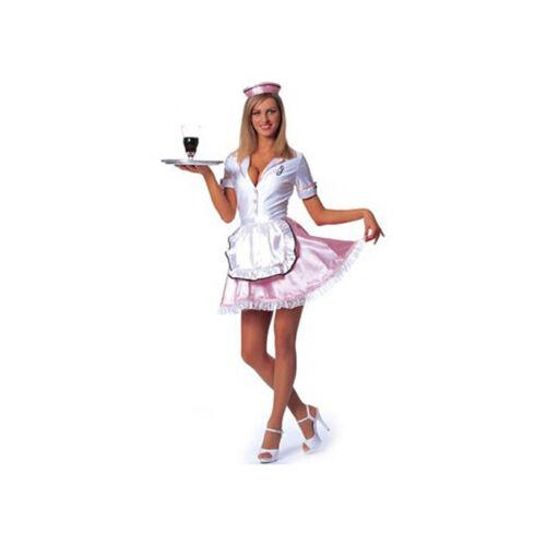 Franco 50/'s Waitress Adult Halloween Costume Size Large 12-14 Sockhop Dinner