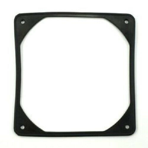 140mm Fan Silicone Soft Anti-Vibration Noise Reduction Silencer Gasket Black
