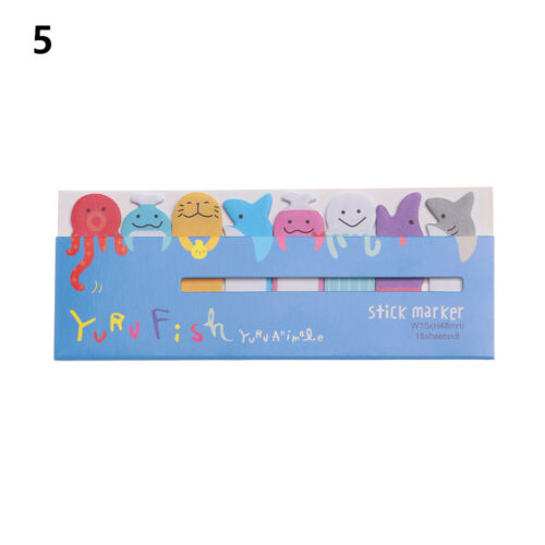 Scrapbooking School Supplies Bookmarks Animal Memo Pad N Times Sticky Notes
