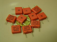 15 pcs MKP10 0,01uF 10nF 400V 10% WIMA PP RM10mm Capacitor NEU