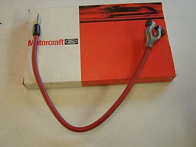 NOS OEM Ford 1979 1984 Mustang Positive Battery Cable 1980 1981 1982 1983  GT LX | eBay | Battery Wiring For 1980 Ford Mustang |  | eBay