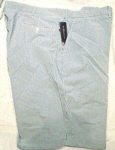 Polo-Ralph-Lauren-100-Cotton-Light-Blue-Seersucker-Shorts-NWT-50-B-89-50