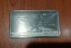 1 oz One Troy Ounce Biohazard .999 Pure Titanium Bullion Bar Ti Element