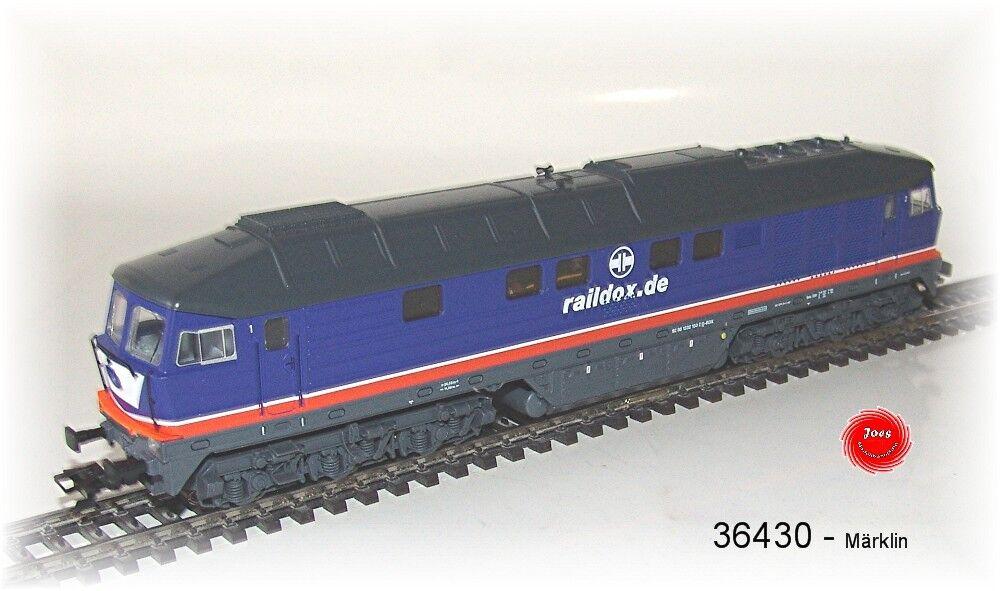 Märklin 36430 diesellok br 232  liudmila  el raildox mfx Sound metal  neu OVP