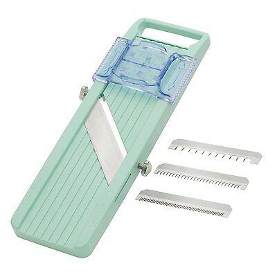 Benriner Japanese Mandoline Slicer, Green, New, Free Shipping