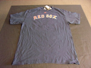 separation shoes d5956 00066 Details about Majestic Jacoby Ellsbury Boston Red Sox Jersey Style Design  T-Shirt LARGE NWT