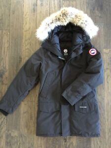 Image is loading NEW-Canada-Goose-Langford-Parka-Jacket-Black-Men-