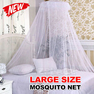 Bed-Curtain-Dome-Mosquito-Insect-Stopping-Double-Single-Queen-Canopy-Net