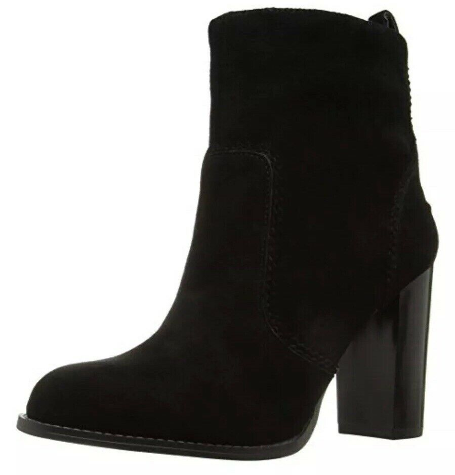 Nine West Women Quicksand Ankle Bootie, Black  UK 6 EU 39 US 8 (25021867)
