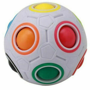 Ball-Magic-Regenbogen-Spielzeug-Puzzle-Cube-Twist-Kinder-Regenbogenball-Logik-DE