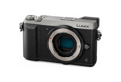 Panasonic Lumix GX80 Nur Body - Silber