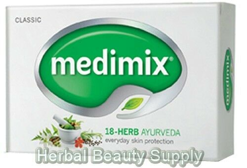 pack Of 3 125 G Medimix Ayurvedic Soap With 18 Herbs