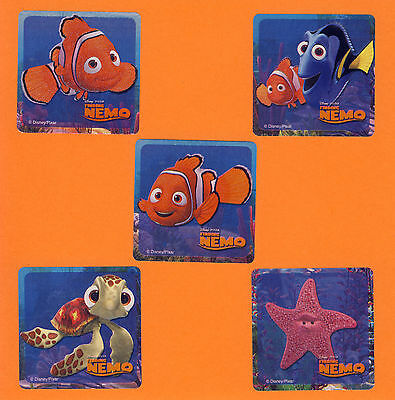 10 Finding Nemo Glitter - Large Stickers - Party Favors