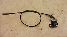 1986 Honda Elite 250 CH250 H1231. parking brake cable and actuator