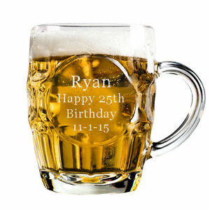 Personalised-Half-Pint-Dimple-Glass-Tankard-Gift-Engraved-with-any-text