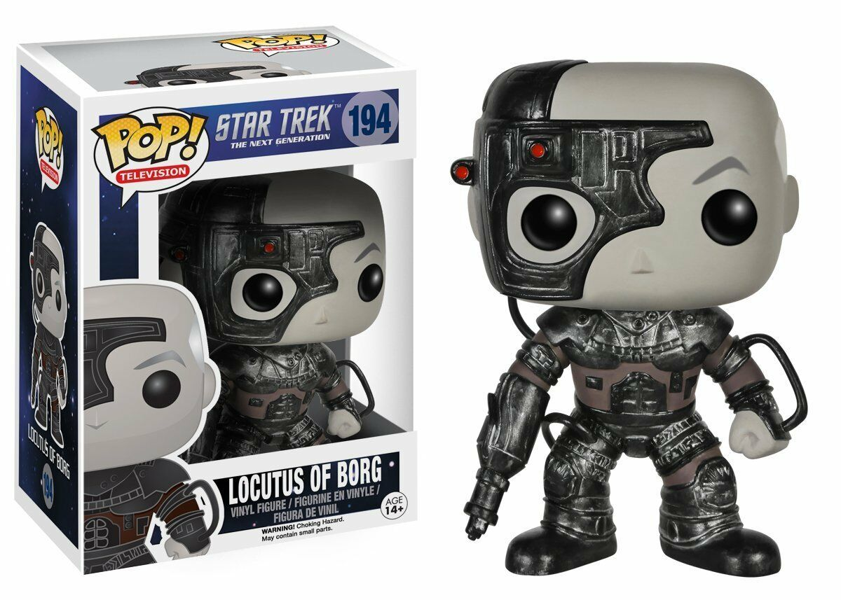 Funko Pop  Star Trek    The Next Generation Locutus of Borg Pop  Vinyl Figure UK e872c0