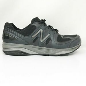 New-Balance-Mens-1540-V2-M1540BK2-Black-Running-Shoes-Lace-Up-Low-Top-Size-12-4E