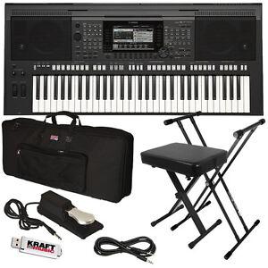 yamaha psr s770 arranger workstation keyboard stage. Black Bedroom Furniture Sets. Home Design Ideas