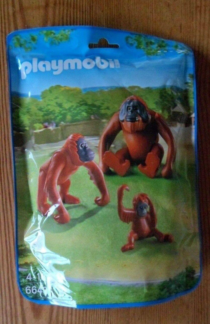 Playmobil Orangután Orangután Orangután Mono con bebés 6648 Totalmente Nuevo  precios bajos