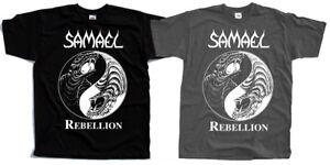 Samael T Cover Shirtblack Rebellion1995Black MetalAlbum vwONn8m0