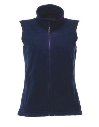 Regatta Damen Fleece Weste Bodywarmer Schwarz oder Blau Größen 34-46 Fleeceweste