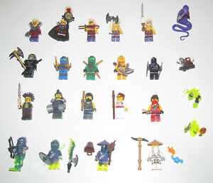 Lego-Ninjago-Minifigure-Figurine-Eyezor-Col-Skylor-Choprai-Choose-Minifig-NEW