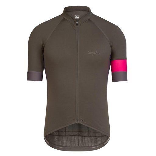 Rapha Radfahren Short Sleeve Training Jersey grau Größe Medium BNWT