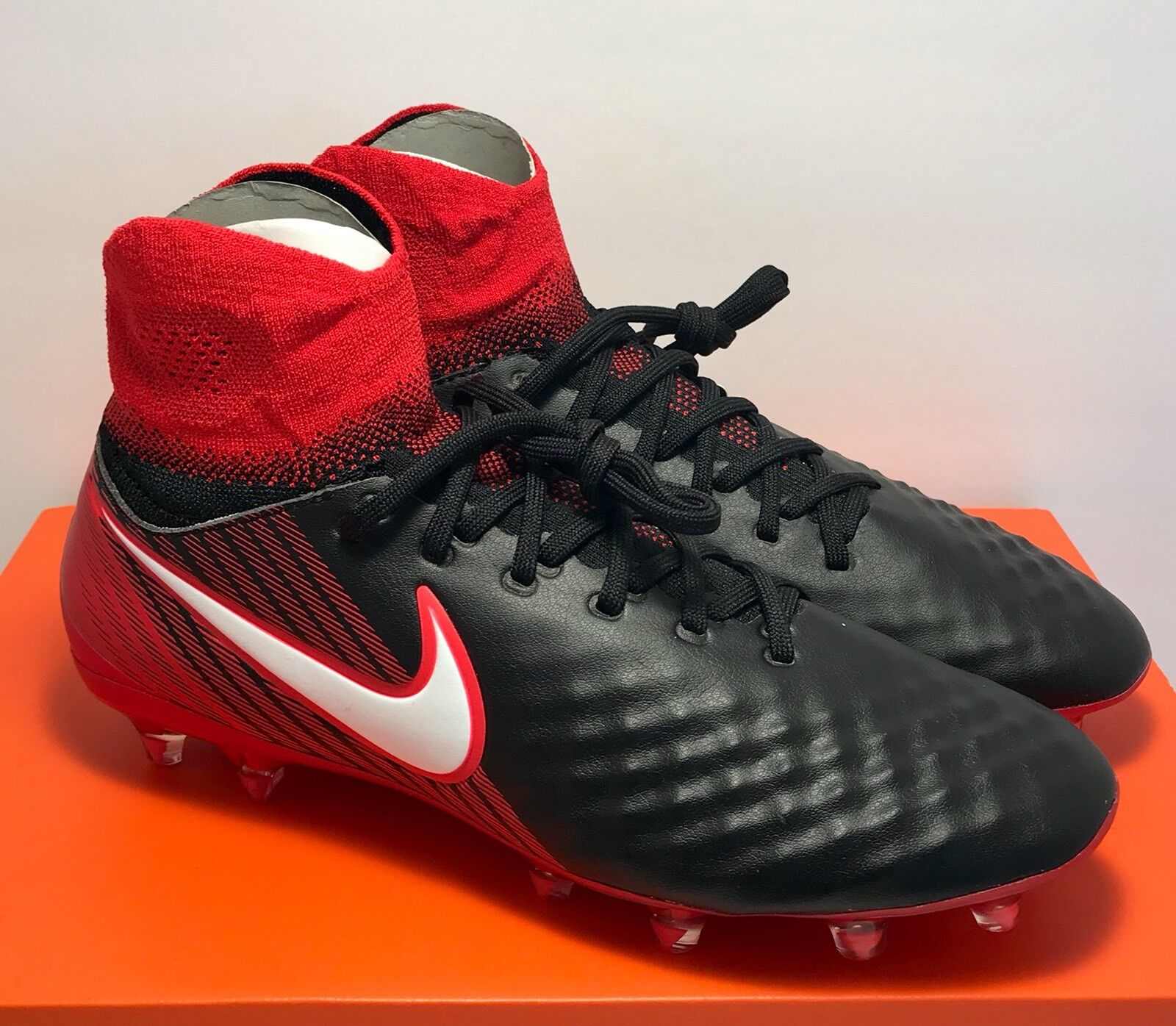 Nike Mens Size 7 Magista Orden II Fire & Ice Soccer Cleats Boots  170