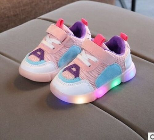 New lighted children/'s board shoes LED lighted boys and girls casual shoes