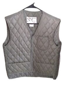 Vintage-Duck-Bay-Men-s-Quilted-Hunting-Vest-Size-SMALL