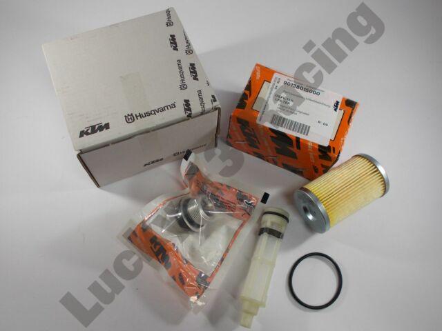 Oil filter service kit KTM Duke RC 125 200 ABS Genuine OEM sump plug o ring
