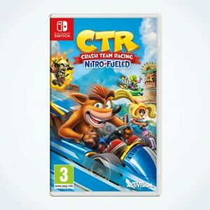 Crash Team Racing Nitro-Fueled sur Nintendo SWITCH / Neuf / Sous Blister / VF