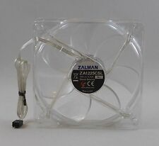 Zalman ZA1225CSL (SL) 120mm 3-Pin 12V/0.16A Quiet Blue LED PC Case Fan