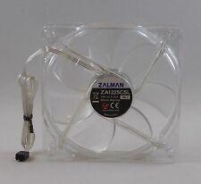 Zalman ZA1225CSL (SL) 120mm 3-Pin 12V/0.16A Quiet Blue LED PC Case Fan