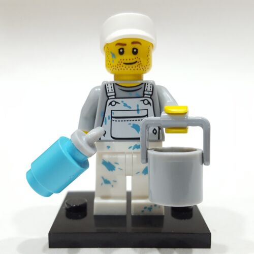 "/"" LEGO Collectible Minifigure #71001 Series 10 /""DECORATOR Complete PAINTER"