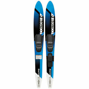 Connelly-Eclypse-Premier-Adjustable-Composite-UV-Coated-Water-Ski-Pair-Blue