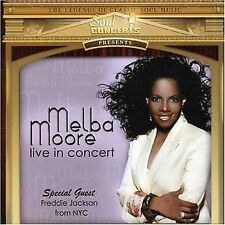 MELBA MOORE LIVE IN CONCERT 2 CD SET FREDDIE JACKSON