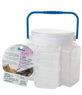 "Bead Storage & Jewelry Display Helpful Wmu Crafty Caddy-6-1/2""x6"" 1 Pcs Sku# 656748ma"