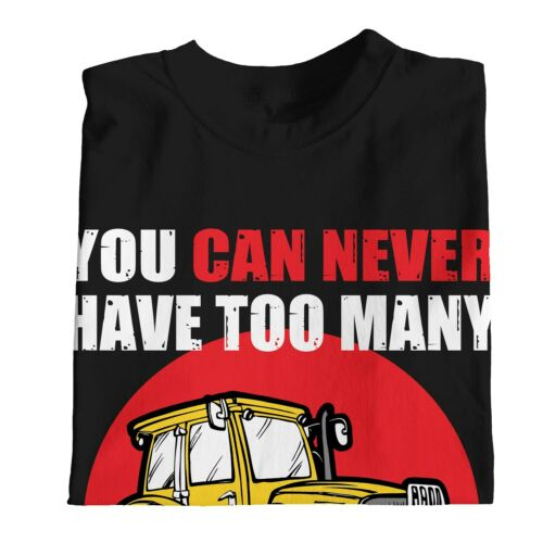 1Tee Womens You Can Never Have Too Many Tractors Farming T-Shirt