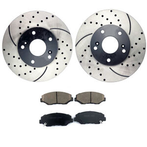 Details about  /2009 2010 for Cadillac Escalade Brake Rotors and Pads Rear