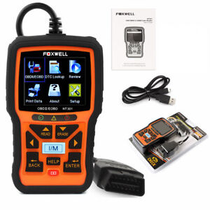 Foxwell NT301 OBDII Engine Universal Car Code Reader Scanner Diagnostic Tool US