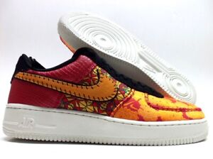 NIKE AIR FORCE 1 07 Prm Chinese New Year Gym Red Orange Sz