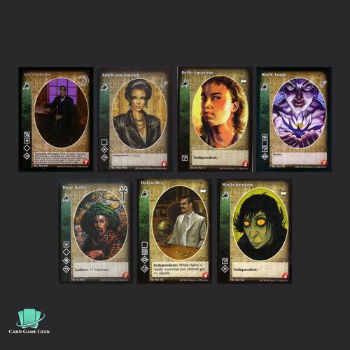 G4 A 7x Followers of Set Vampires Vampire Eternal Struggle VTES Jyhad