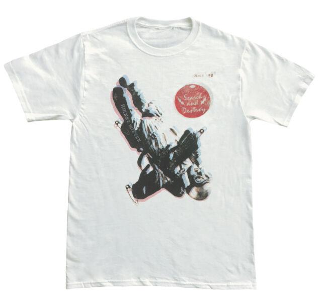 New York Dolls Retro Punk Rock Mens White T Shirt  NEW  S M L XL 2XL 3XL 4XL 5XL
